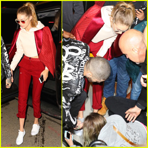 Zayn Malik & Gigi Hadid Help Fan Who Falls Outside Album Release Party