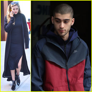 Zayn Malik Heads Out of Girlfriend Gigi Hadid's NYC Apartment