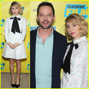 Zoe Kazan Steps Out for 'My Blind Brother' Premiere at SXSW