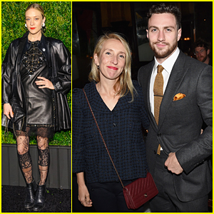 Aaron Taylor-Johnson & Wife Sam Couple Up At Chanel Tribeca Film Fest Artists Dinner 2016!