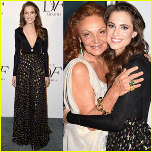 Allison Williams Finds Sisterhood at DVF Awards