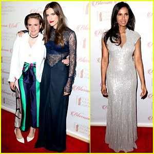 Allison Williams Votes in Primary Before Glamming Up with Lena Dunham