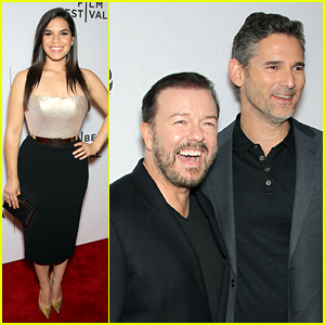America Ferrera Joins Ricky Gervais & Eric Bana for TFF Premiere