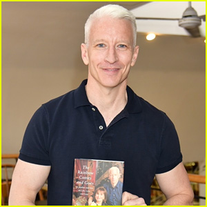 Anderson Cooper Worries No One Will Show Up to His Book Signings