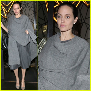 Angelina Jolie Steps Out After Being Confirmed for 'Maleficent 2'