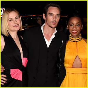 Anika Noni Rose Is a Golden Girl at MIPTV with Anna Paquin!