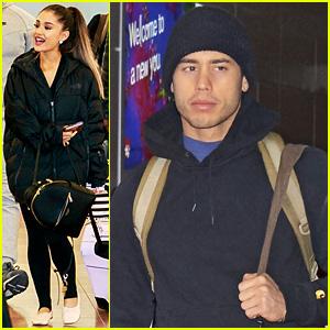 Ariana Grande & Boyfriend Ricky Alvarez Travel to Japan Together