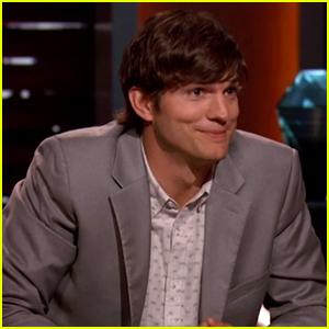 Ashton Kutcher Plays Hardball On Latest 'Shark Tank' Episode