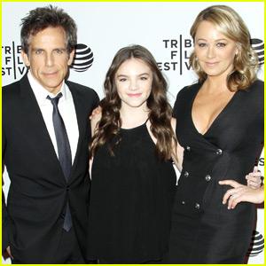 Ben Stiller Supports Wife Christine Taylor at 'Little Boxes' Premiere