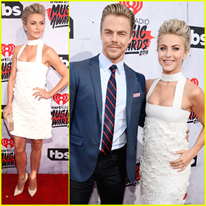 Julianne Hough Joins Brother Derek at iHeartRadio Music Awards 2016