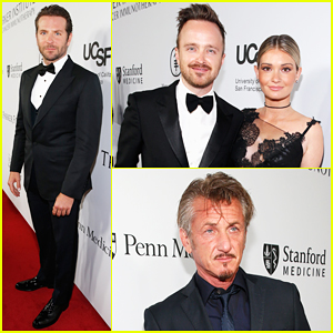 Bradley Cooper, Sean Penn & Aaron Paul Suit Up For Parker Institute Launch Gala!
