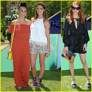 Ashley Greene & Emma Roberts Get Their Braid on at ZoeAsis During Coachella 2016