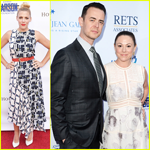 Busy Philipps & Colin Hanks Lend Support At Norma Jean Gala 2016!