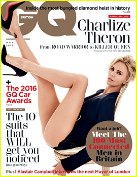 Charlize Theron Covers 'British GQ' May 2016