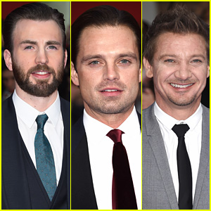 Chris Evans Leads Team Cap at 'Captain America: Civil War' UK Premiere!