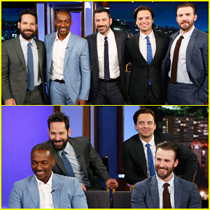 Chris Evans, Sebastian Stan, Anthony Mackie & Paul Rudd Face Off In Personal Trivia!