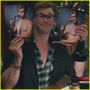 Chris Hemsworth Shows Off Shirtless Headshots in 'Ghostbusters' BTS Featurette!