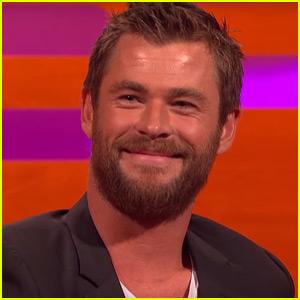 Chris Hemsworth Tells His Favorite 'Thor' Joke