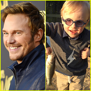 Chris Pratt Takes His Son Jack Fishing & Captures It on Video!