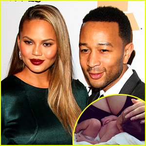 Chrissy Teigen Shares First Photo of Daughter Luna!