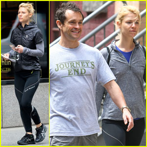 Claire Danes Continues Her Workout Streak in the Big Apple