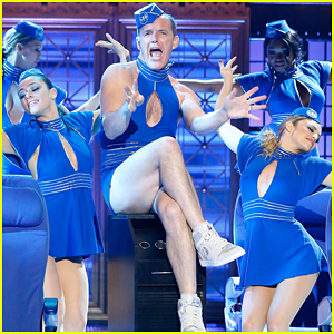 Clark Gregg Goes Full Britney Spears for 'Lip Sync Battle' Performance Preview - Watch Now!