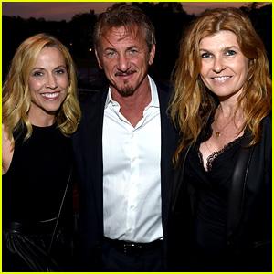 Connie Britton & Sheryl Crow Support Sean Penn at J/P Benefit Concert