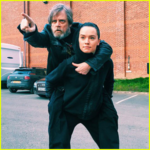 Daisy Ridley's Gets a 'Star Wars' Themed Birthday Message From Mark Hamill!