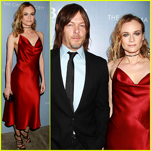 Diane Kruger Is Red Hot at 'Sky' Premiere with Norman Reedus!
