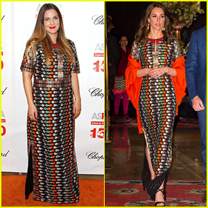 Drew Barrymore & Kate Middleton Wear Same Dress on Same Day!