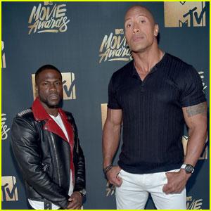 Hosts Dwayne Johnson & Kevin Hart Promise 'Epic' MTV Movie Awards 2016