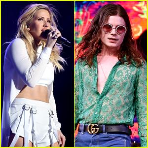 Ellie Goulding & BØRNS Open Coachella Weekend One!