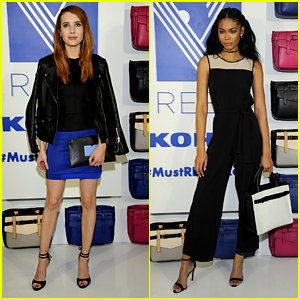 Emma Roberts & Chanel Iman Launch Reed X Kohl's Collection