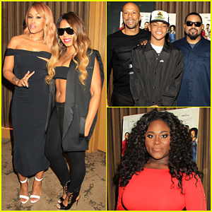 Eve & 'Barbershop: The Next Cut' Co-Stars Hit New York City!