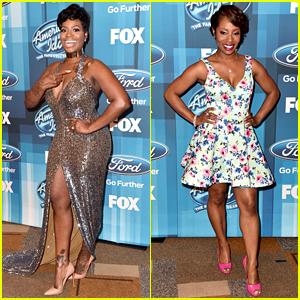 Fantasia & LaToya London Reunite at 'American Idol' Finale