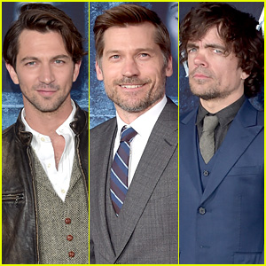 'Game of Thrones' Guys Michiel Huisman, Nikolaj Coster-Waldau & More Premiere Season 6!
