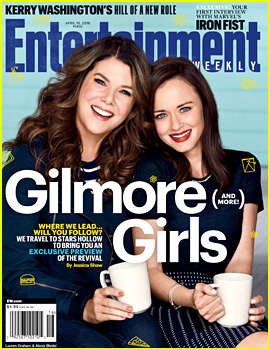 'Gilmore Girls' Netflix Reboot Gets an 'EW' First Look Cover Story!