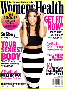 Gina Rodriguez Dishes On 'Deepwater Horizon' with Women's Health Mag