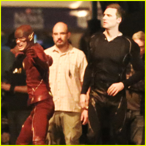 Grant gustin thankful to be part of the flash while wrapping grant gustin thankful to be part of the flash while wrapping season 2 m4hsunfo Image collections