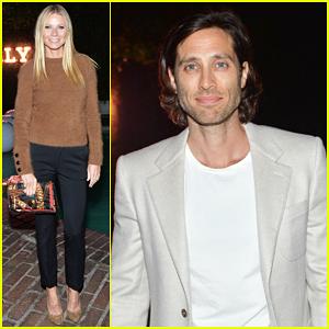 Gwyneth Paltrow & Boyfriend Brad Falchuk Celebrate Bally's New Flagship Store Opening!