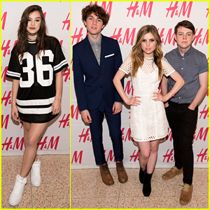 Hailee Steinfeld Opens H&M at Sundance Square With Echosmith