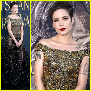 Halsey Gets Dressy for 'The Huntsman: Winter's War' Premiere