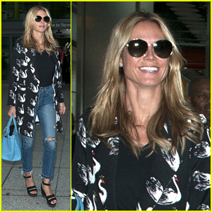 Heidi Klum & Vito Schnabel Attend Art Gallery Showing