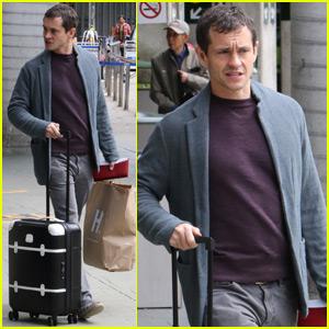 Hugh Dancy Arrives in Vancouver to Begin Filming 'Fifty Shades Darker'