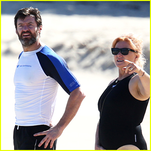 Hugh Jackman Spends Another Day at the Beach in St. Barts