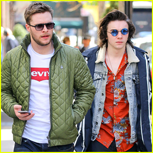 Jack Reynor & 'Sing Street' Stars Hang Out In NYC Together