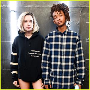 Jaden Smith & Girlfriend Sarah Snyder Party With Calvin Klein Coachella 2016