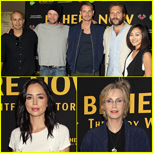 Jai Courtney & 'Suicide Squad' Co-Stars Show Support At 'Be Here Now' Premiere!