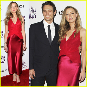 James Franco & Amber Heard Reunite For 'The Adderall Diaries' Premiere - Watch Trailer!