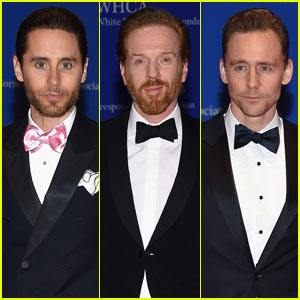 Jared Leto & Damian Lewis Look Dapper for White House Correspondents' Dinner With Tom Hiddleston